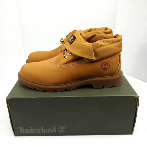 purchase cheap 9004e b891b NWT Timberland Roll-Top Wheat Nubuck Men s Boots